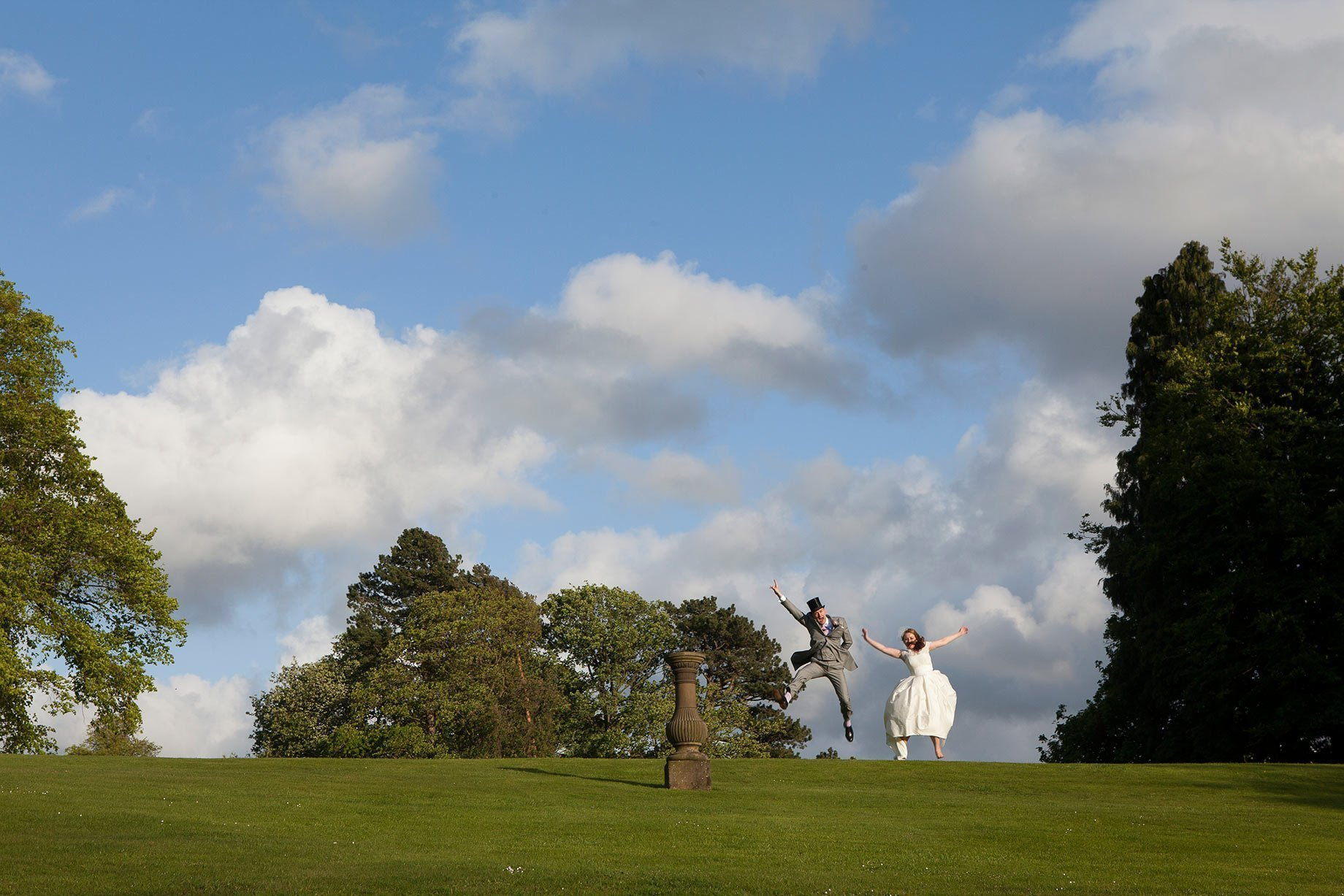 Laura & Mike at Broughton Hall