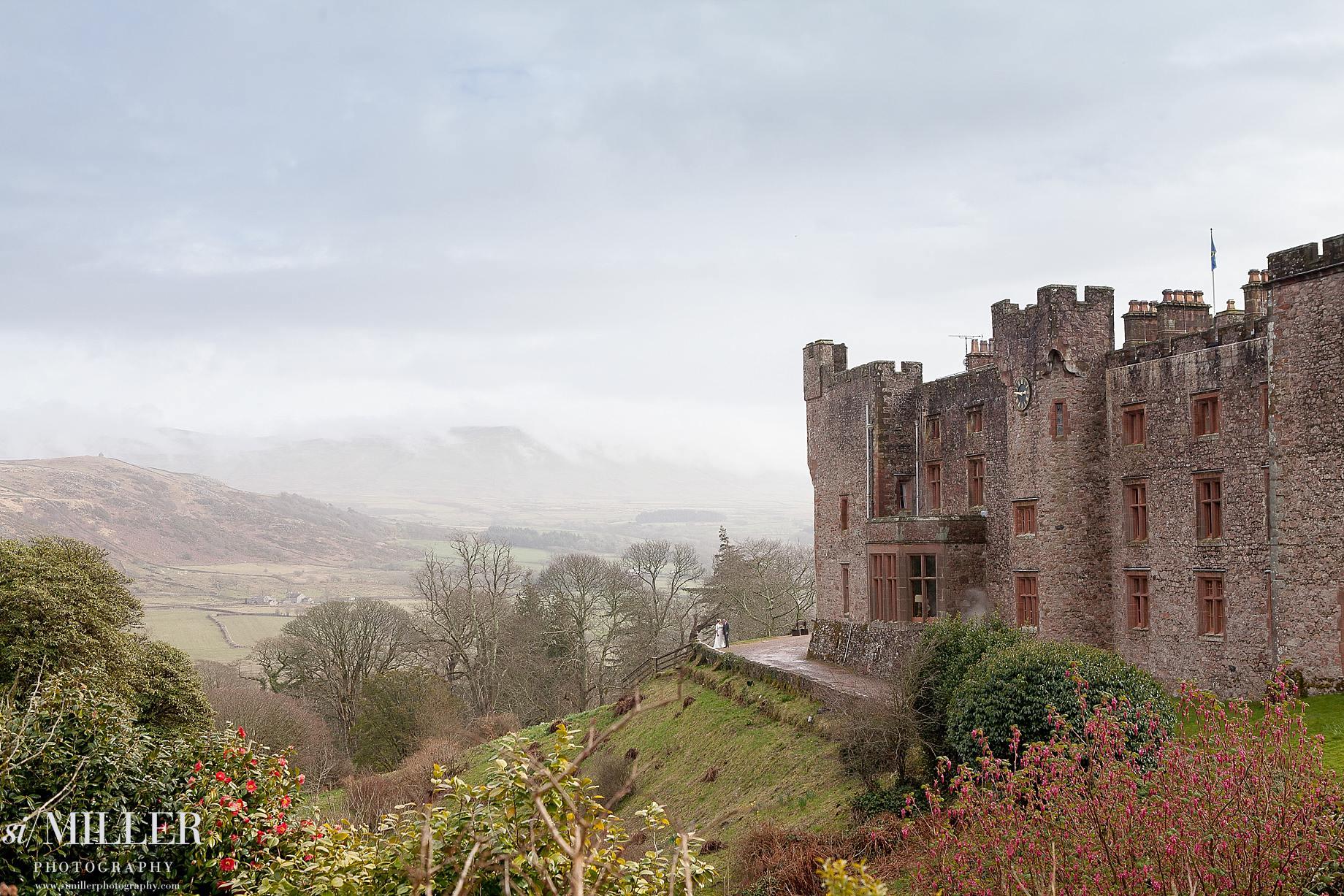 Annabel & Matt Muncaster Castle