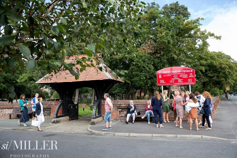 St annes parish church wedding photographer lancashire