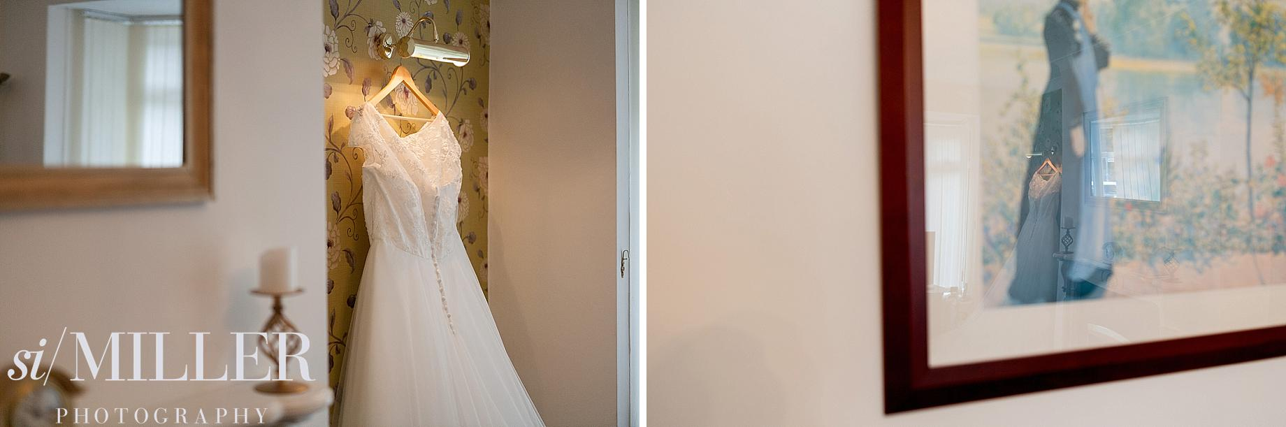 accrington Wedding photographer lancashire wedding dress