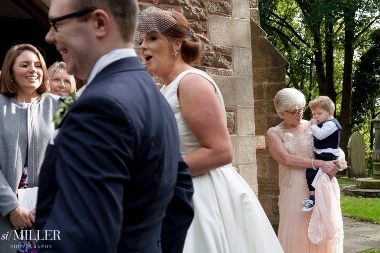 Lancashire wedding photographer best of 2017. Chorley wedding photographer Euxton Parish Church.