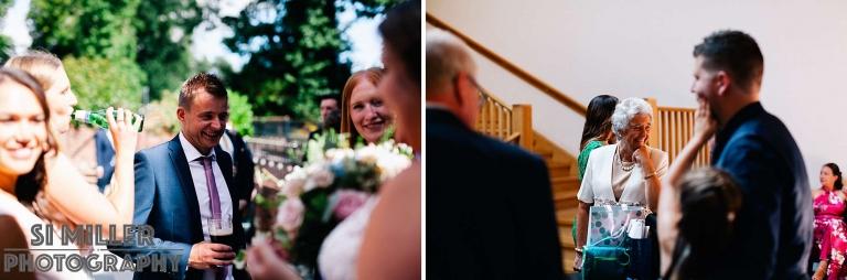 Best the villa wrea green wedding photographer documentary