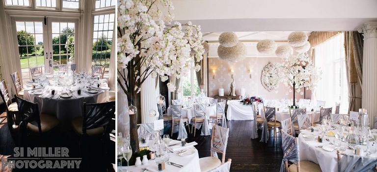 Falcon Manor Wedding reception room
