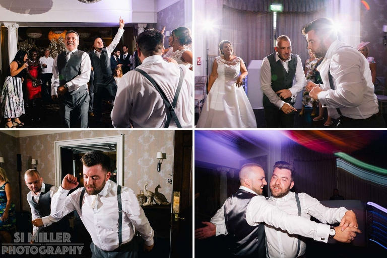 dance floor in full swing
