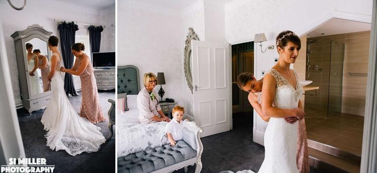 wedding dress puurr bridal Stirk House wedding photographer lancashire