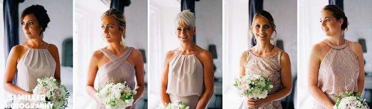 bridesmaids Stirk House wedding photographer lancashire