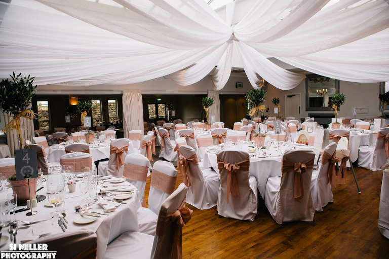 table decorations stirk house wedding photgraphy lancashire