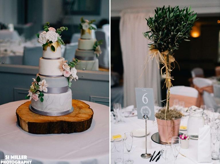 table decorations stirk house wedding photgraphy lancashire