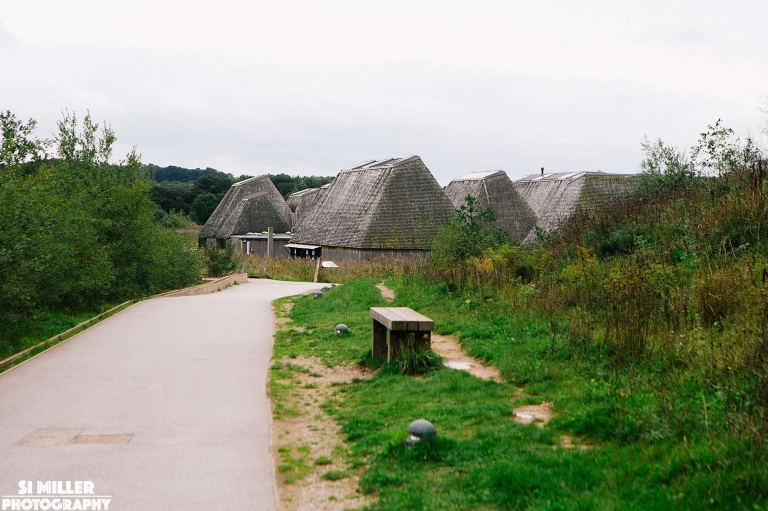 Path leading to brockholes visitor centre