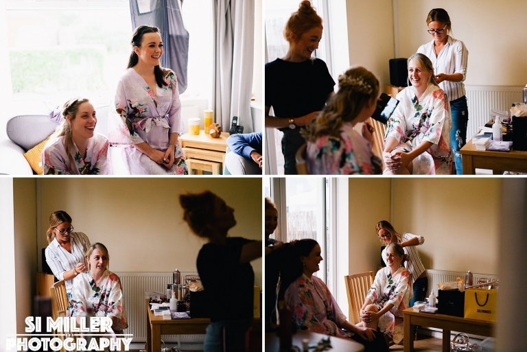 Bridal prep photos in Preston Wedding Photography
