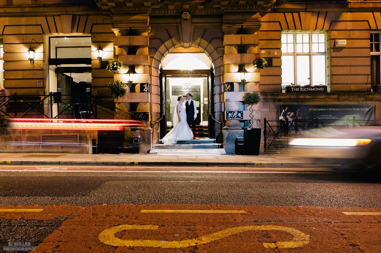 Richmond Hotel wedding photographer Liverpool