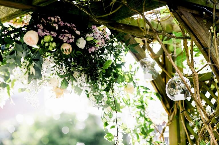 Wedding in garden at Home in Preston - Preston Wedding Photographer