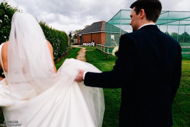 DIY wedding at home in Preston