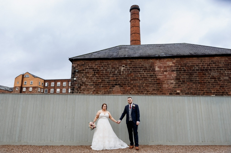 Couple out the West Mill